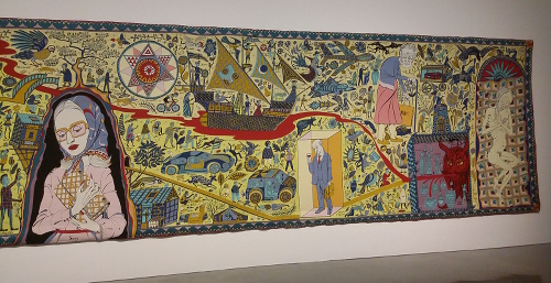 Grayson Perry Walthamstow Tapestry (section)