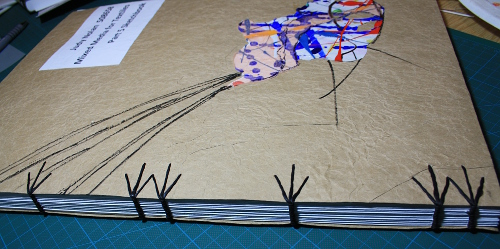 Sketchbook binding
