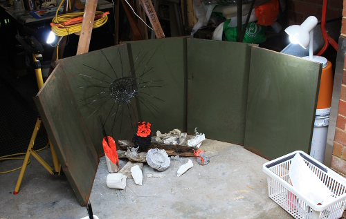 Final recording setup