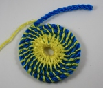 Coiled interlocking stitch