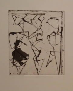 Brice Marden Etchings to Rexroth 9, from the portfolio Etchings to Rexroth 1986