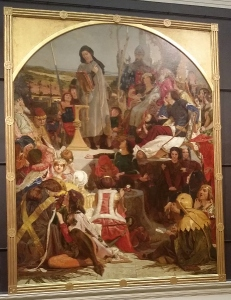 Ford Madox Brown Chaucer at the court of Edward III 1847-1851