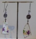 floral_ceramic_steel_earrings