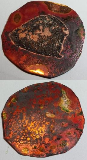 copper, flux, aluminium
