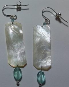 Rachel - apatite and glass